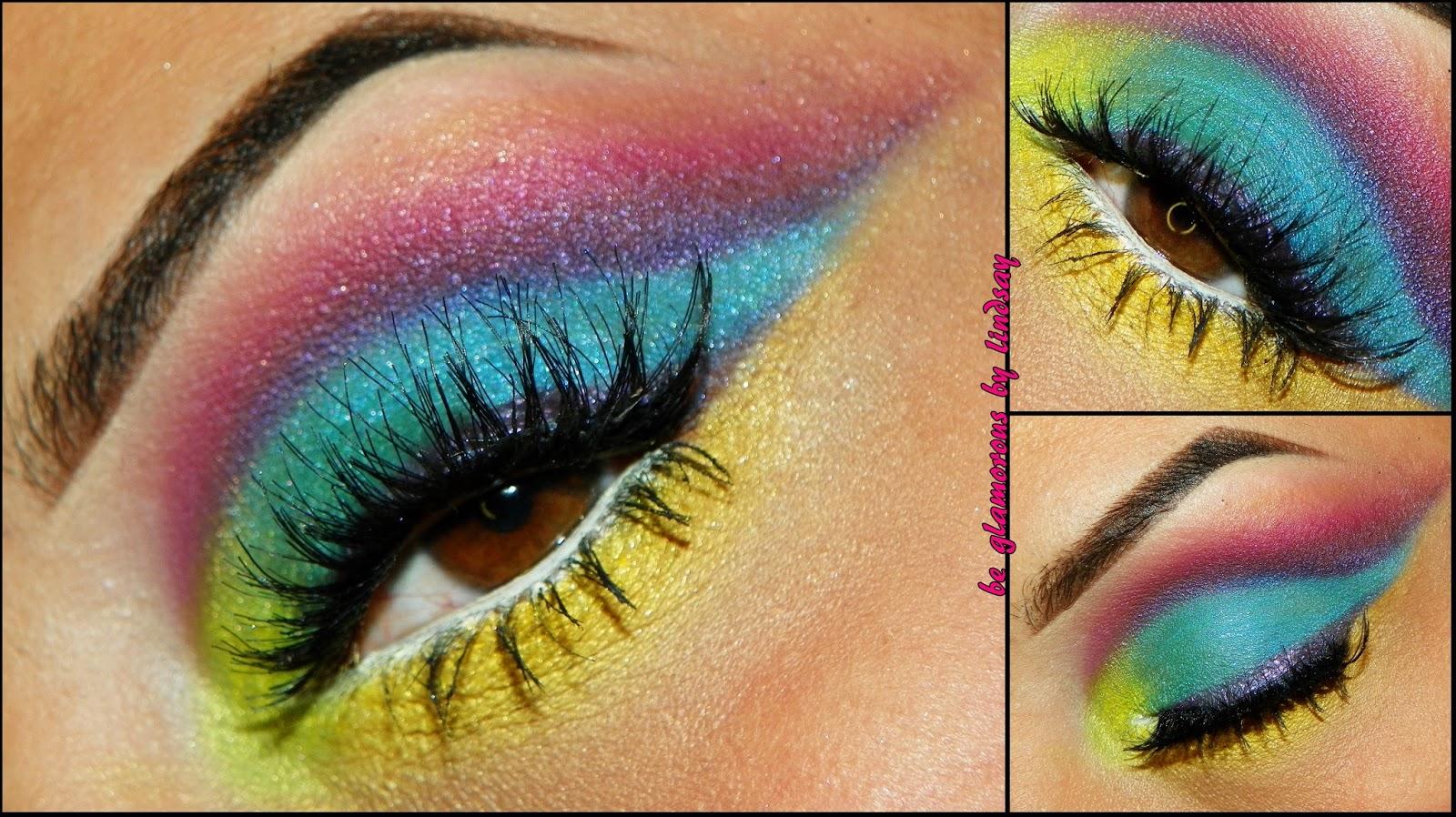 Glamorous eye makeup tutorial