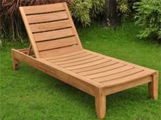 New Grade A Teak Multi Position Sun Chaise Lounger Steamer
