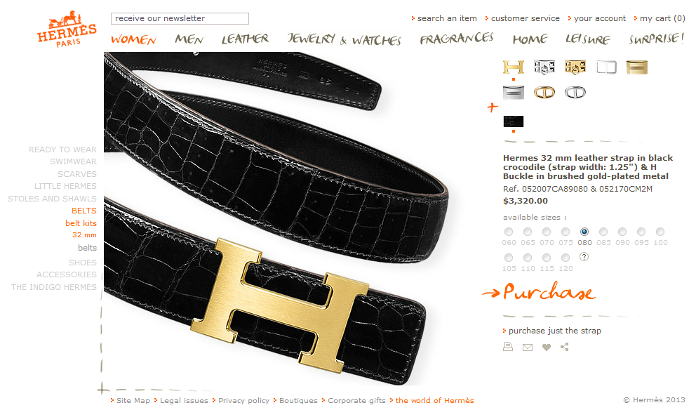 hermes belt buckle cost