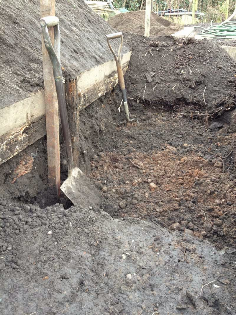 Allotment garden destroying soil structure for Soil structure