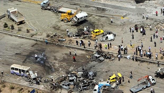 Helikopter Irak Gempur Konvoi Suriah di Perbatasan