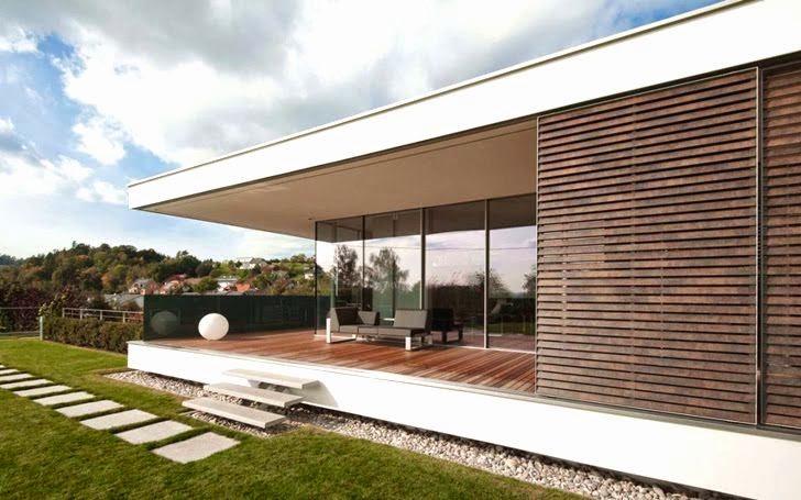 Casa sk reformada al estilo contempor neo austria for Modern haus design