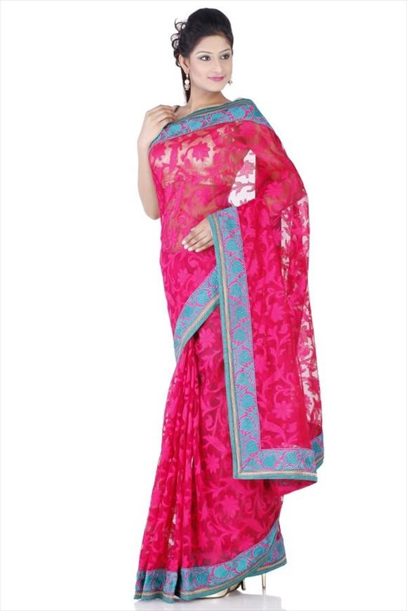 net sarees design