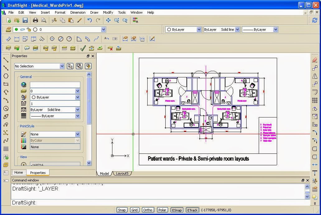 Drafting Software Blueprints Like This Are Created In