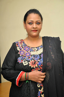 Actress Shakeela Latest Pictures in Salwar Kameez at Romantic Target Movie Teaser Launch 7