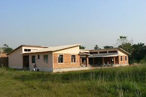 scuola realizzata a Bangui