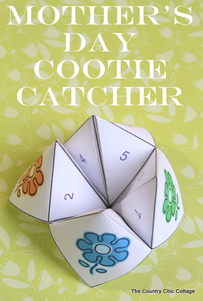 Mother 39 S Day Cootie Catcher Free Printable The Country