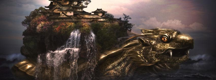 Dragon castle facebook cover