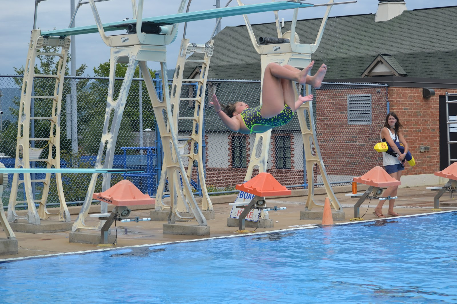 Jersey shore pa swim reason 7 on importance of learning to swim pretending to be olympic - Dive recorder results ...