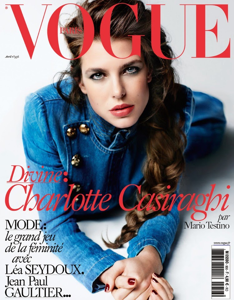 Caroline, Princess of Hanover @ Charlotte Casiraghi - Vogue France, April 2015