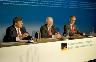 """Presentación de resultados de CTA """"Andalucía ante los retos de la política industrial europea 2020"""""""