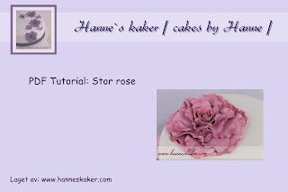 Stor rose tutorial