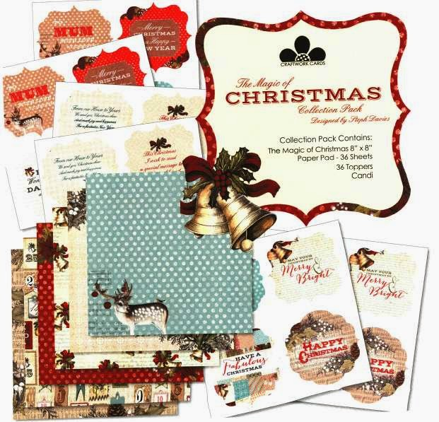 Craftwork Cards - The Magic of Christmas