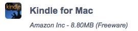 Download Kindle 2016 Offline Installer for Mac
