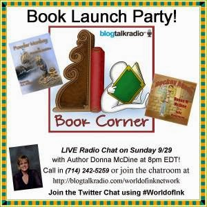 Book Corner Launch Party with Award-winning Children's Author, Donna McDine