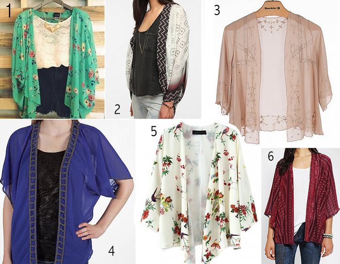 for the birds: Summer Trend: Breezy Chiffon Cardigans