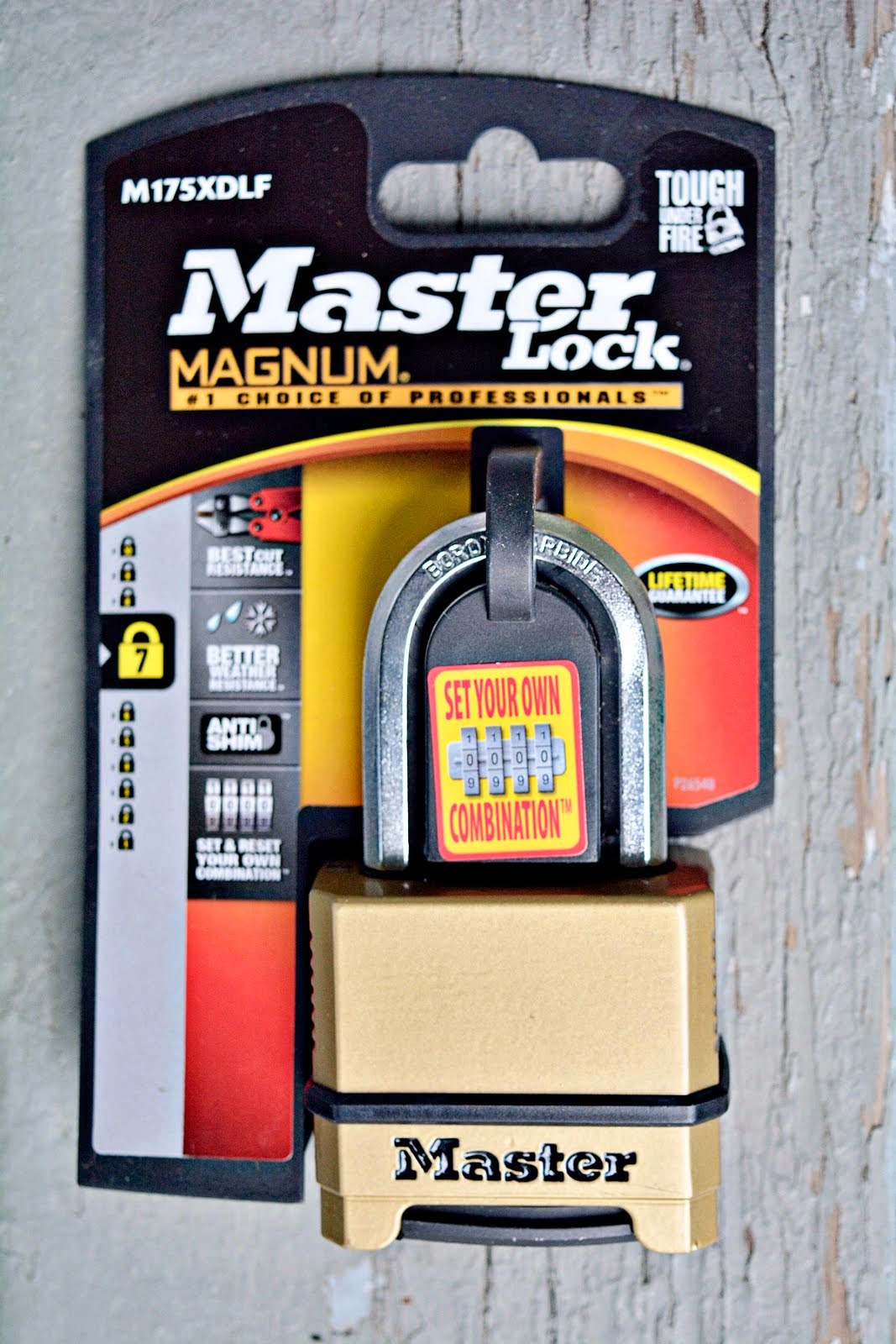 Enter To Win Master Lock!