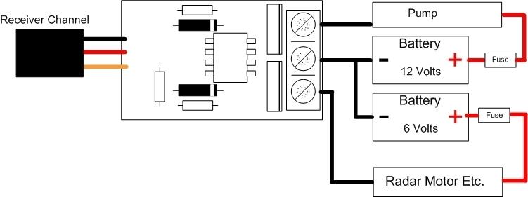 sj u0026 39 s rc club  2 way radio control switch r  c rc boat car