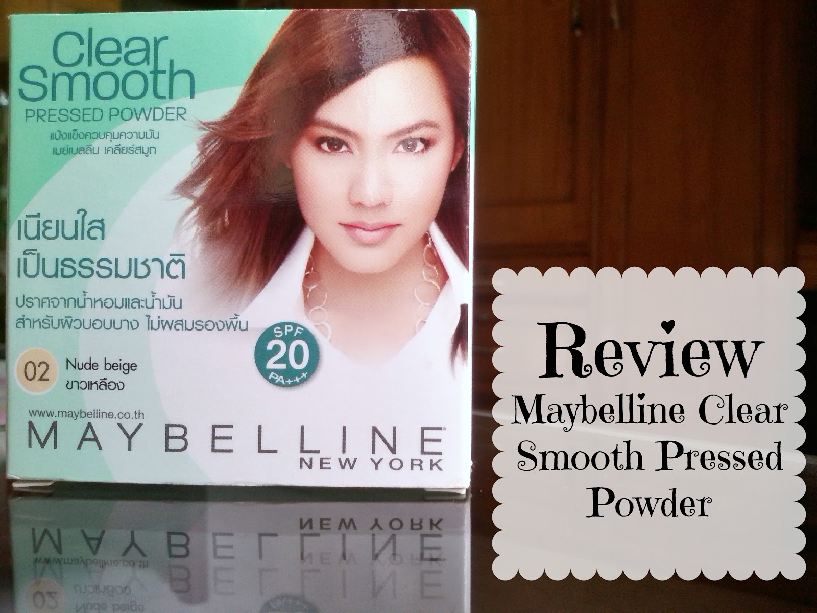 MAYBELLINE CLEAR SMOOTH SHINE FREE FACE POWDER || REVIEW - Little ...