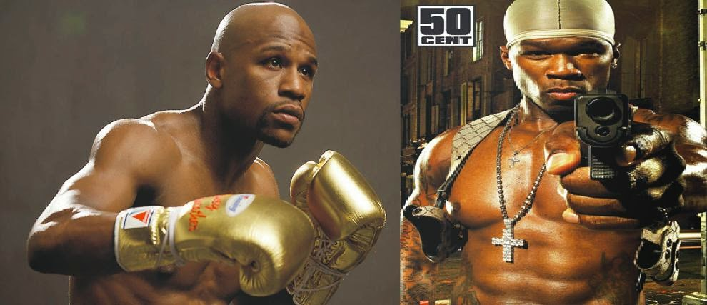 50 Cent Throw Jibes At Floyd Mayweather Over Ice Bucket Challenge