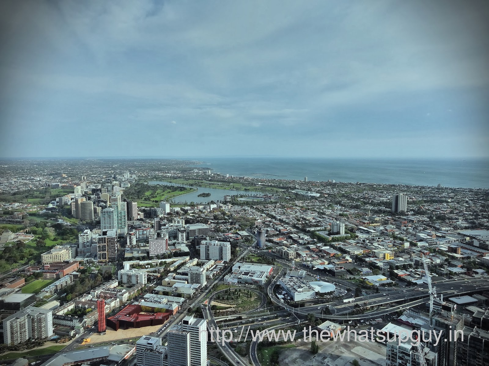 Eureka Towers View
