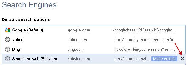 how to delete google chrome web data file