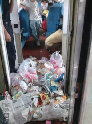samapah dalam kereta api