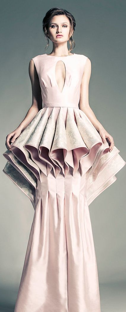A letter different styles of dresses
