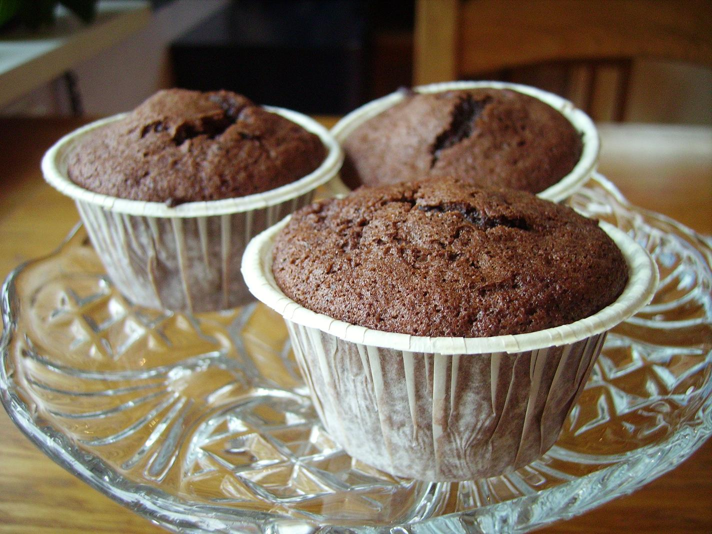 chokladmuffins med dumlekola