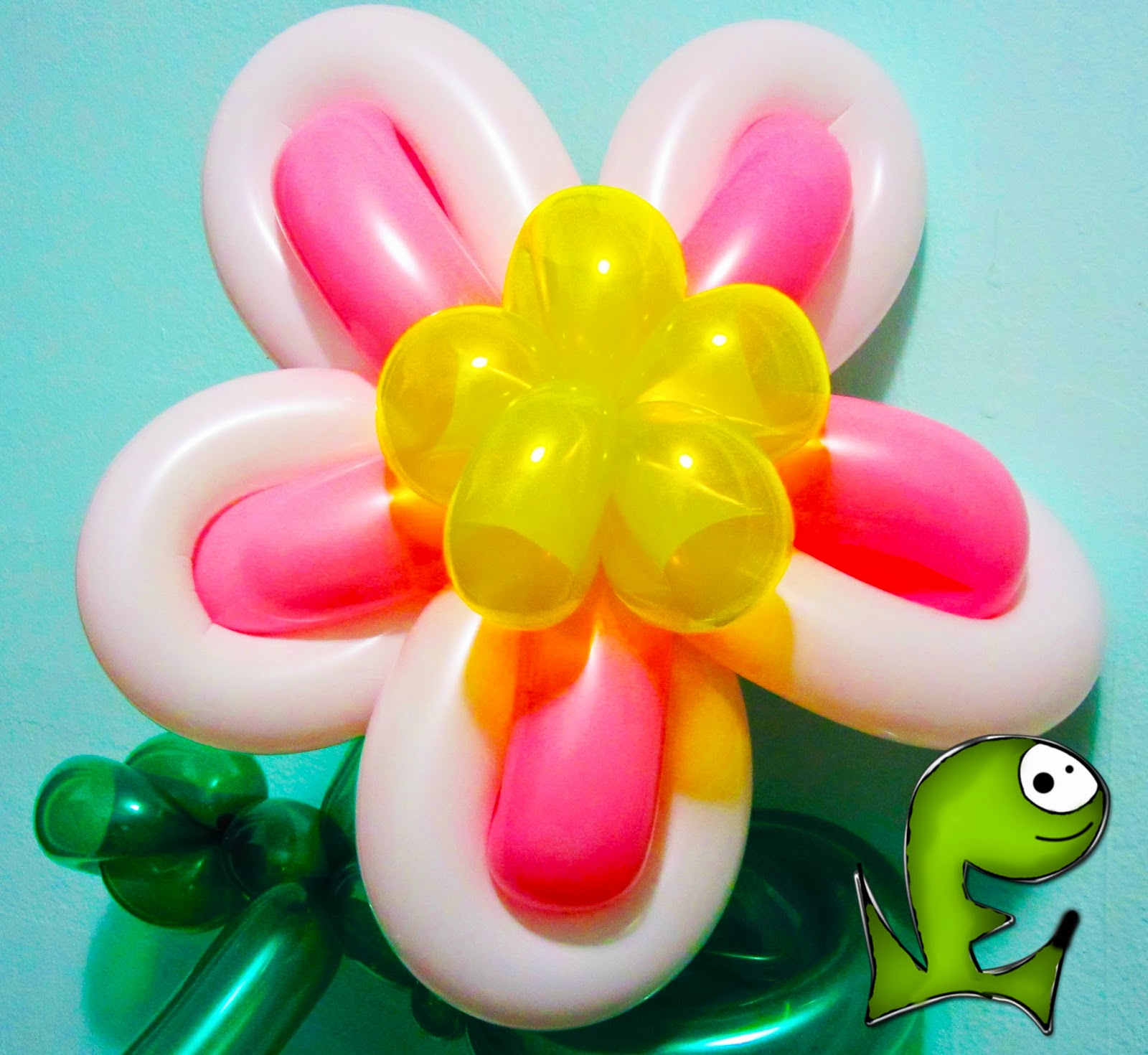 Proxima Mente Como Hacer Una Flor Con Globos - Como-hacer-flores-de-globos