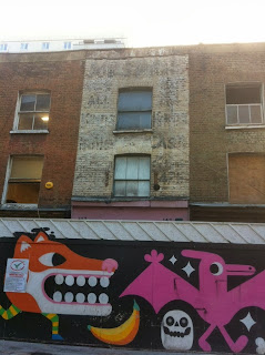 Ghost sign, near Old Street, London