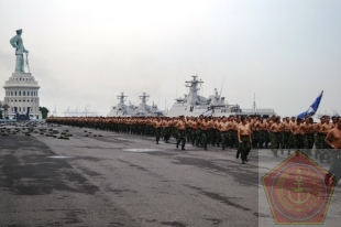 Hadapi Latgab TNI 2013 Prajurit Koarmatim Giatkan Pembinaan Fisik