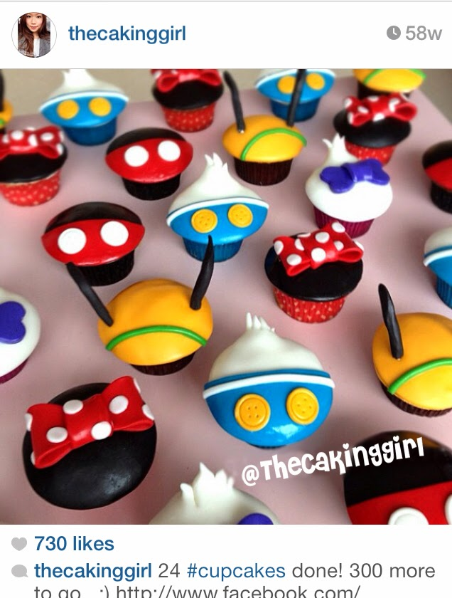 the best disney cupcakes