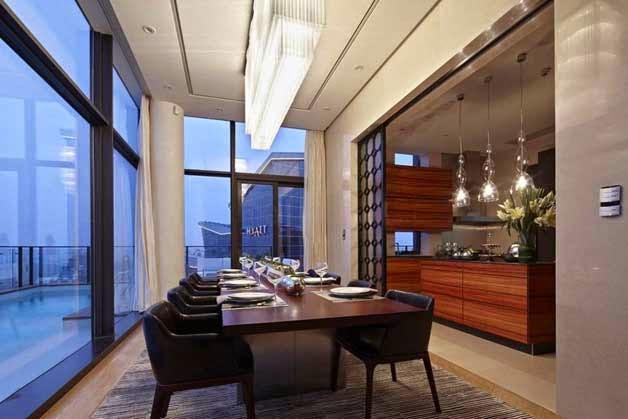 Elegante y excepcional ático en China
