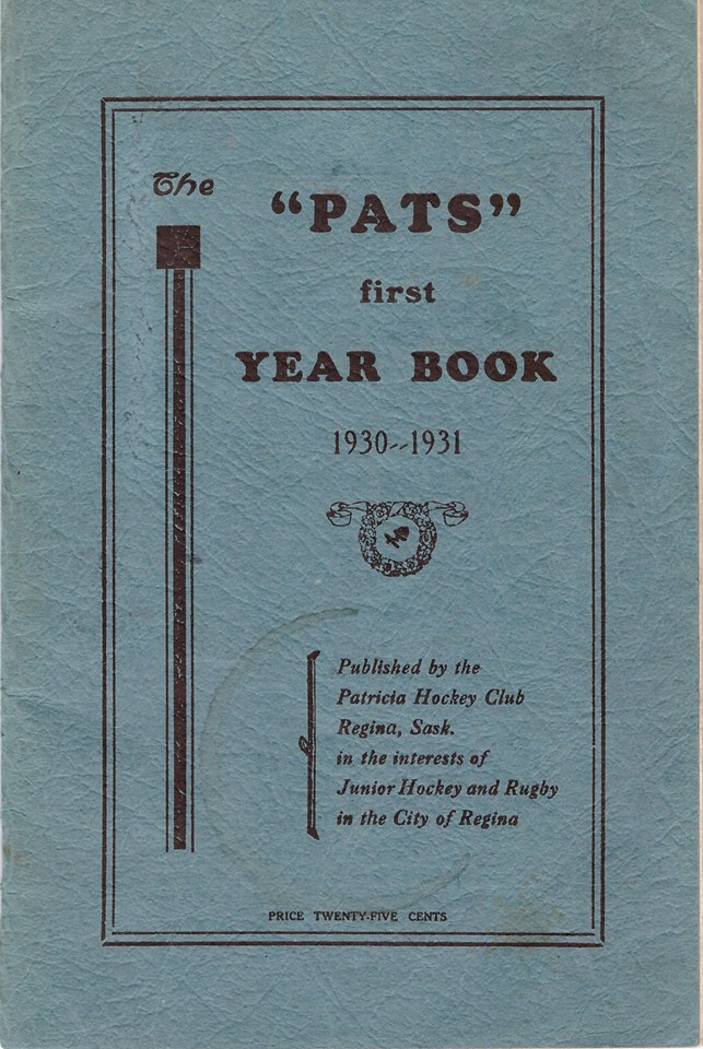 Pats Year Book 1930-1931