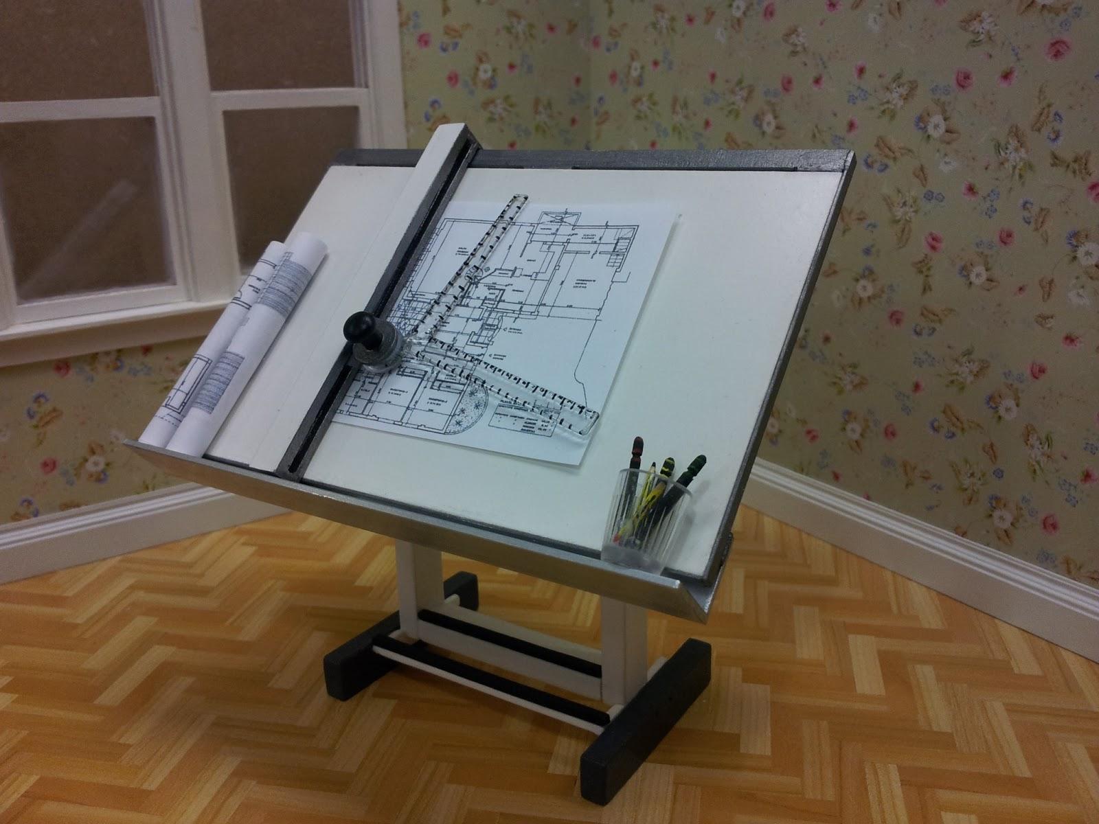 Drap miniatures mesa de arquitecto - Mesa de arquitecto ...