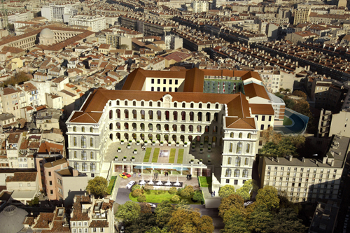 Five star hotels intercontinental marseille hotel dieu for Hotel design marseille