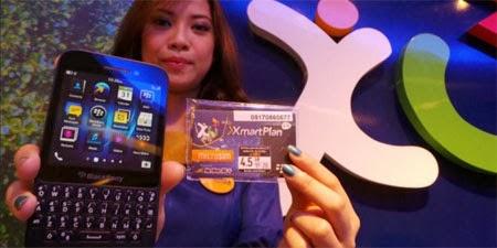 Paket Blackberry XL