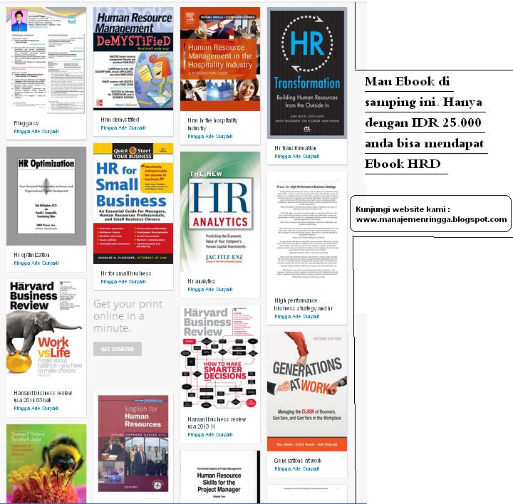 Jual Ebook HRD Terlengkap