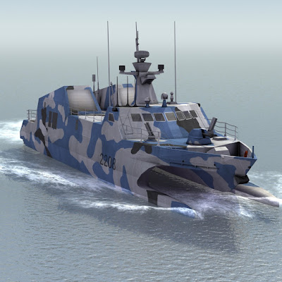 Type-022 Houbei stealth catamaran