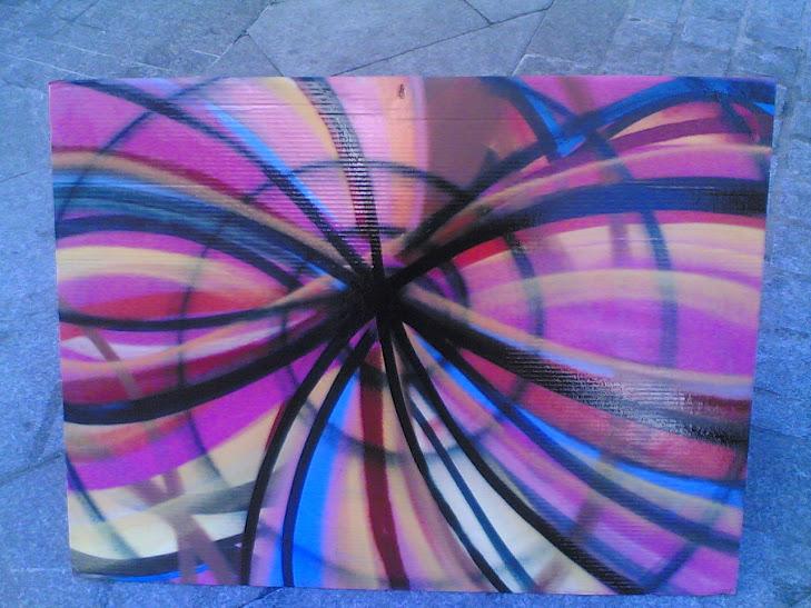 graffiti cuadro
