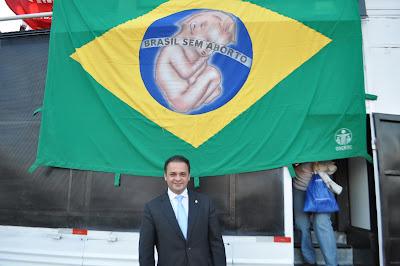 Deputado Roberto de Lucena 4ª Marcha Nacional da Cidadania Pela Vida