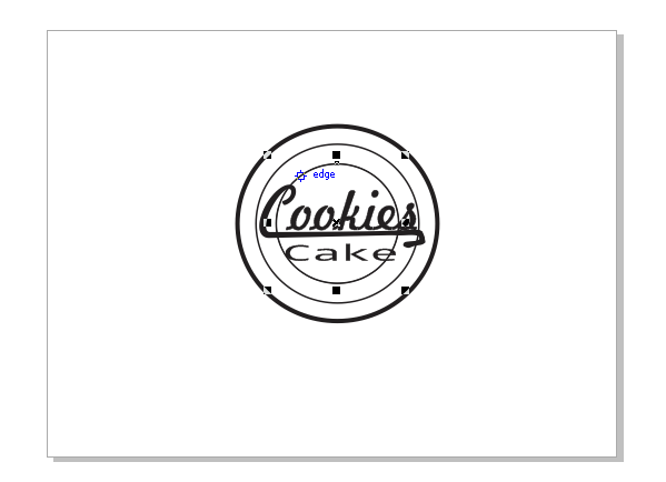 Benny95Then: Tutorial Membuat Logo Coreldraw X5