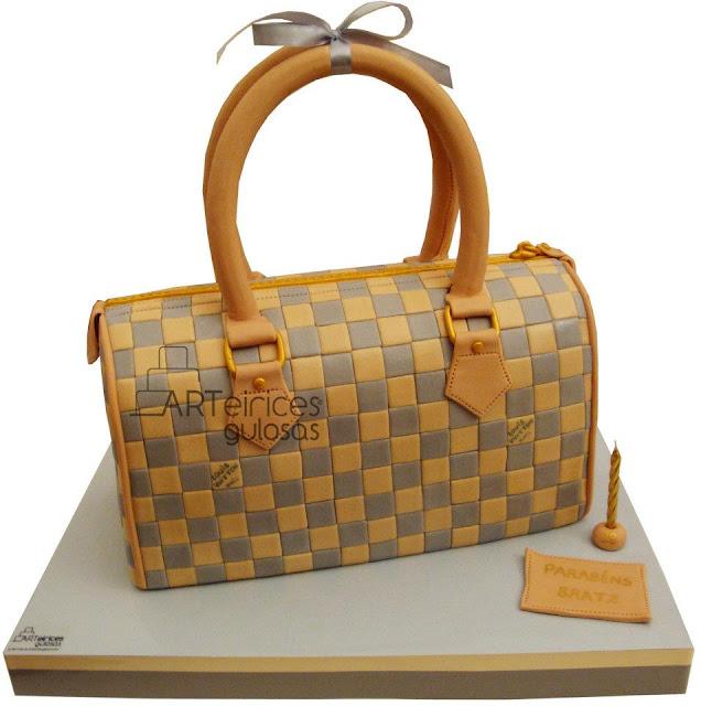 arteirices gulosas Bolo Louis Vuitton