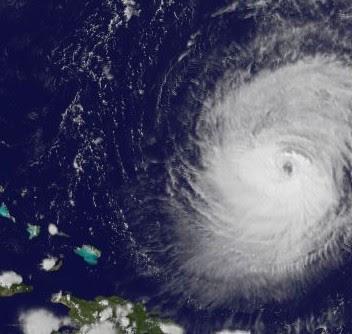 KATIA jetzt Kategorie 3 - Major Hurricane, Katia, Atlantik, major hurricane, Satellitenbild Satellitenbilder, September, Hurrikansaison 2011, 2011,