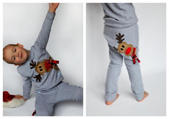 świąteczna stylizacja dla dzieci