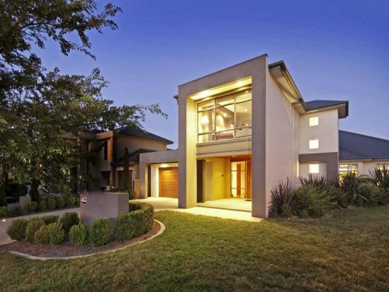 Hogares frescos fachadas de casas especial de hogares for Exteriores de casas modernas