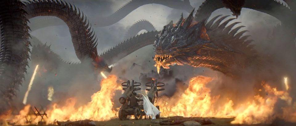 Game of War Fire Age Wallpaper Screenshot of The Hydra-demon