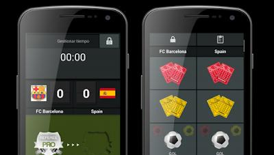 App para ayudar a árbitros