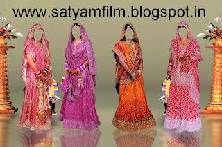 India Bridal Dress PSD www.satyamfilm.com Design By Satyam And Shivam Jaiswal